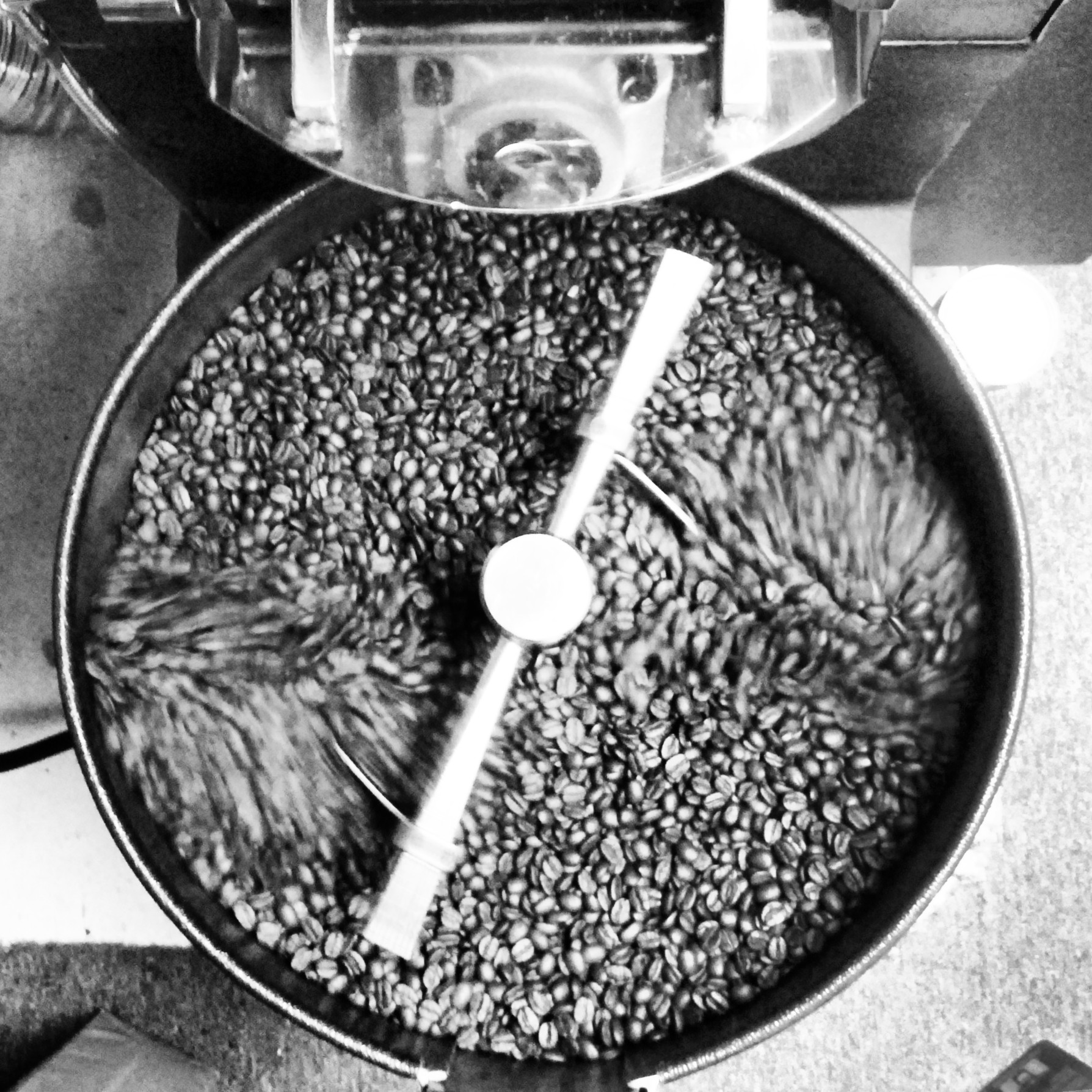Coffee Beans Cooling